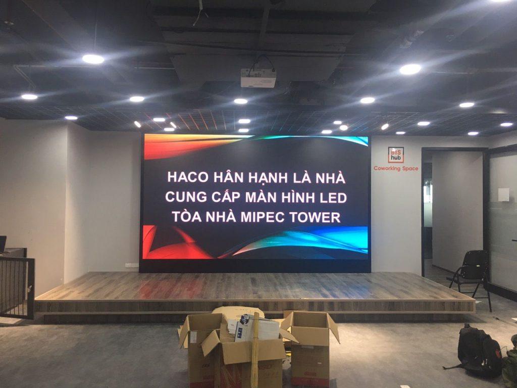 HACO thi công lắp đặt tại toàn nhà Mipec Tower