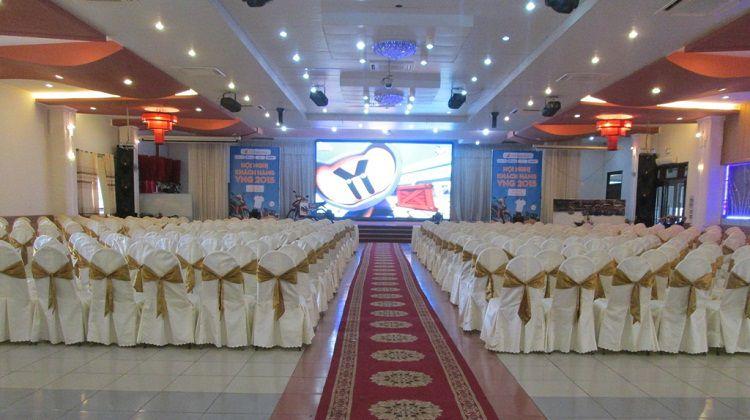 HacoLED cung cấp thi công lắp đặt và cho thuê màn hình LED đám cưới